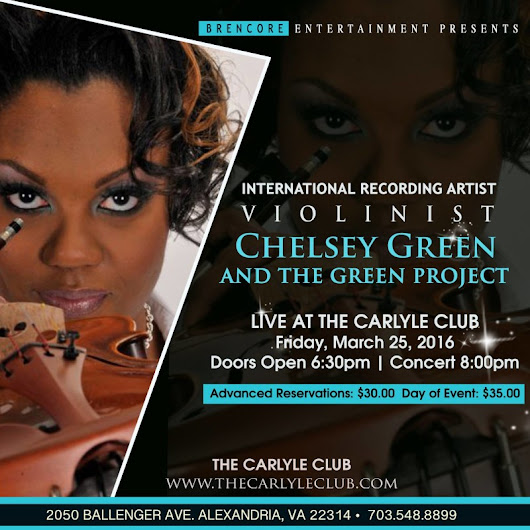 Chelsey Green and The Green Project LIVE at the Carlyle Club!