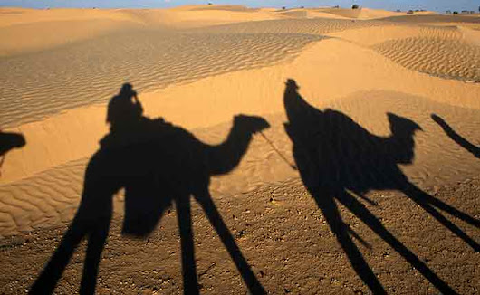 A Camel Safari in Tunisia - Travel Writer Jeremy Head