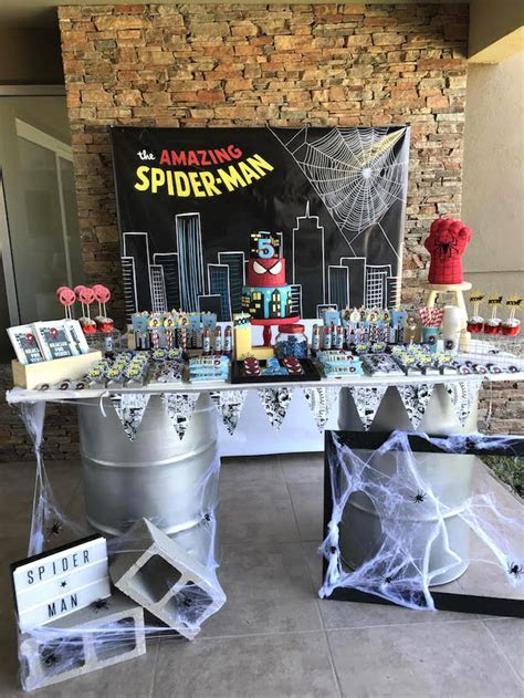 Kara's Party Ideas The Amazing Spiderman Birthday Party
