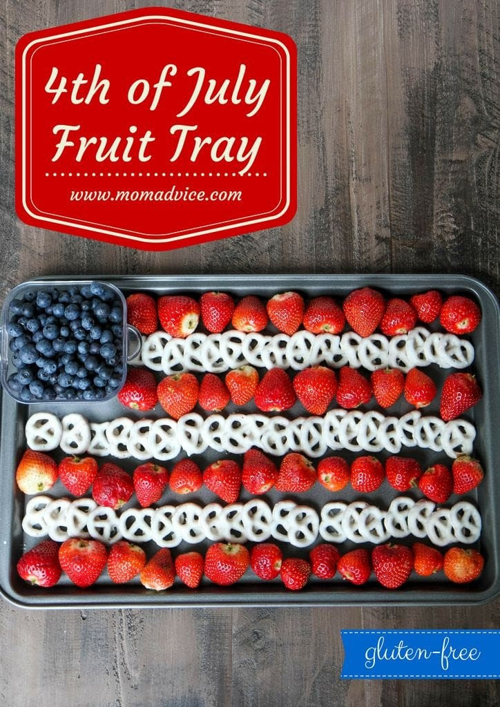 4th Of July Flag Fruit Dessert Tray Momadvice