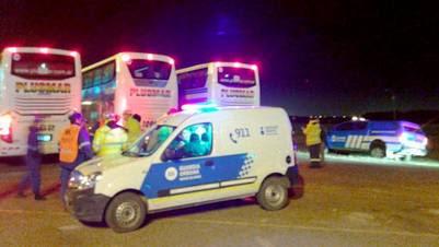 Cuatro choferes de micro que llevaban contingentes de chicos a Bariloche fueron obligados a dejar el viaje por consumo de drogas.