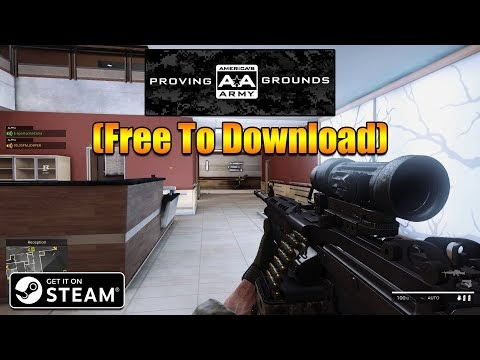 America's Army: Proving Grounds STEAM Installation Process(Free To Downl...