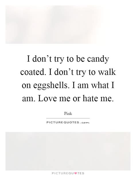 Dont Try To Love Me Quotes