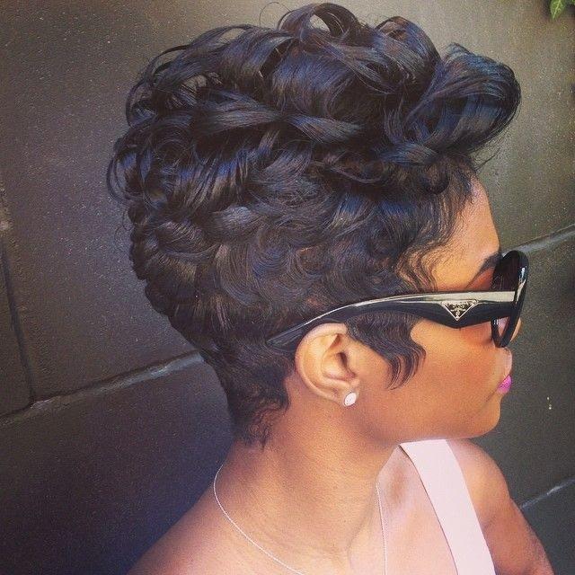 23 Pretty Hairstyles for Black Women 2015 Styles Weekly - Women ...