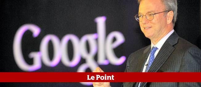 Eric Schmidt, le P-DG de Google, renvoie la balle dans le camp des politiques.