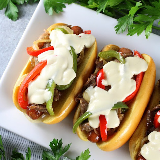 Philly Cheesesteak Hot Dog | Taste And See