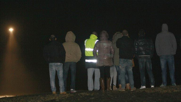 Encuentran el cadáver de uno de los tres desaparecidos por el temporal en Galicia