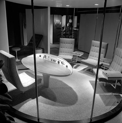Escritório do futuro concebido em 1964