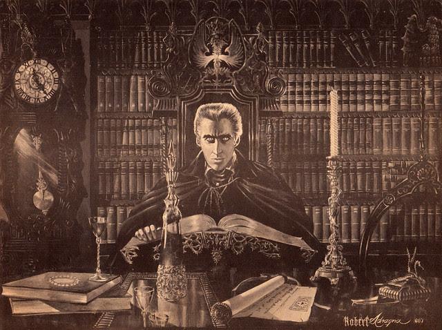 Castle Of Frankenstein, Issue 2 (1962) interior illustration by Robert Adragna