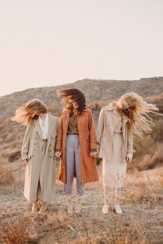 Le Fashion Blog Best Trench Coats For Fall 2015 Neutral Style Wavy Hair Via Chantal Anderson