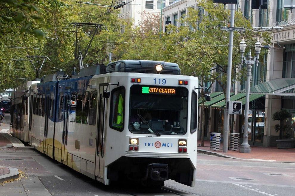 Portland is incredibly walkable