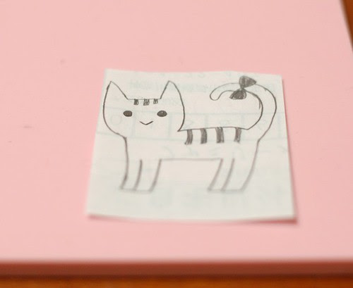 How to carve a stamp 1