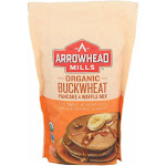 Arrowhead Mills Organic Buckwheat Pancake And Waffle Mix - 26 Oz - Case Of 6