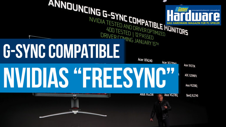 G-Sync Compatible: Where is the difference to Freesync?