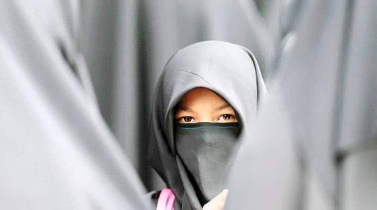 Muslim student hijab pulled off