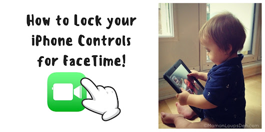 How to Lock Your iPhone or iPad During FaceTime