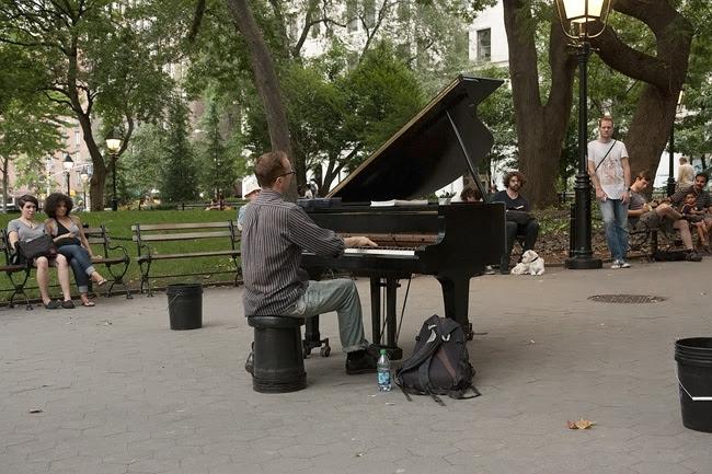 Pianist, Washing Sq Park
