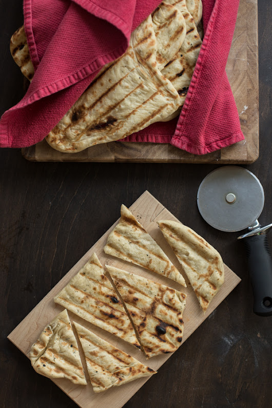 Roasted Garlic and Herb Flatbreads on the Grill – my kitchen addiction