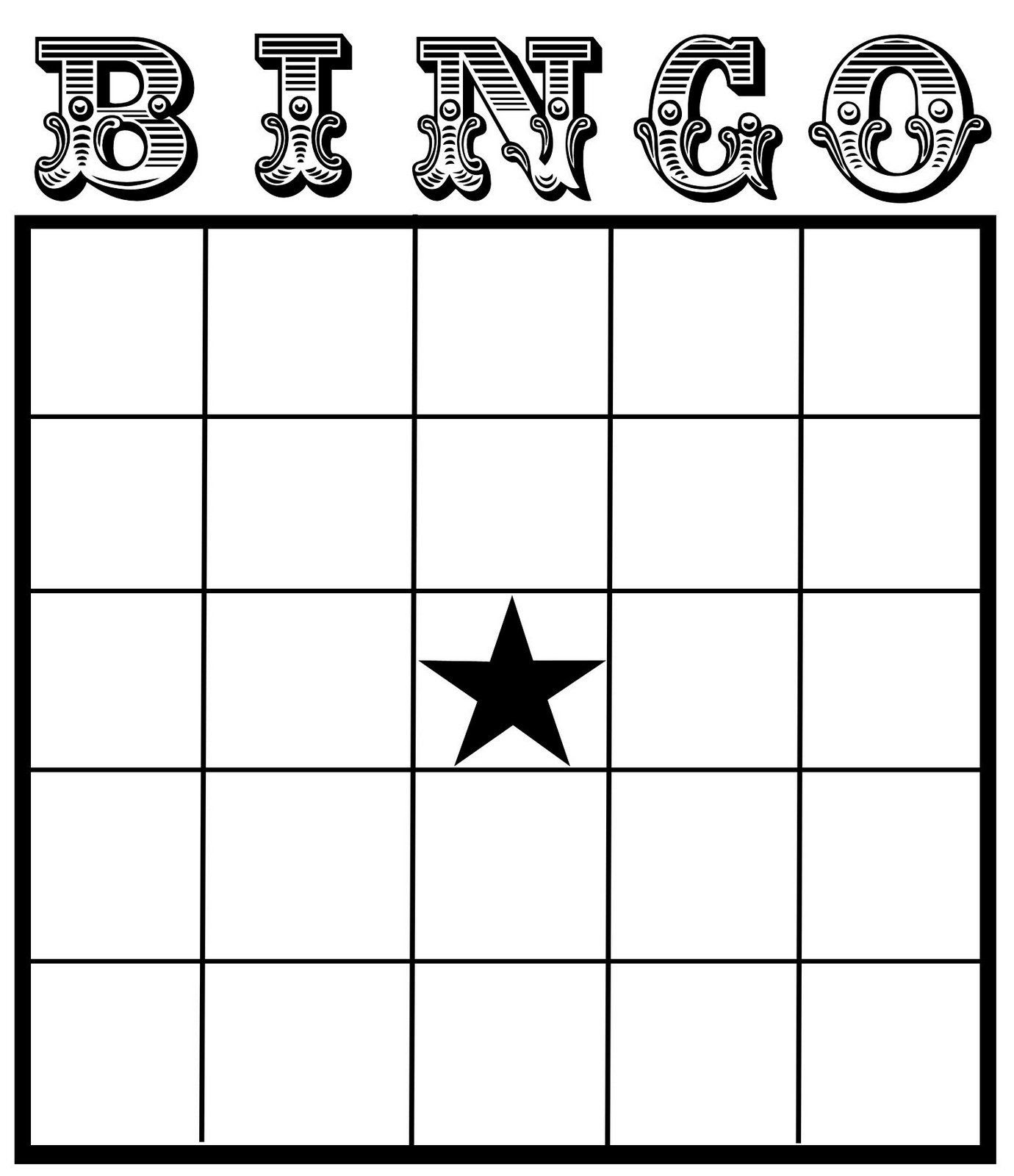 1000+ ideas about Bingo Template on Pinterest | Bingo, Blank bingo ...
