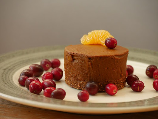 Healthy Chocolate-Orange Mousse Cake (from pumpkin!) - ZoeSuccess Marketing, LLC