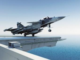 Sea Gripen. Изображение пресс-службы Saab
