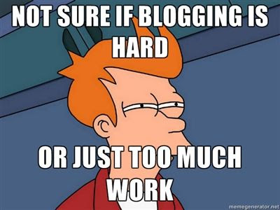 What the Blogging Gurus Don't Tell You