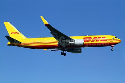 DHL-Atlas Air Boeing 767-3JHF ER WL N643GT (msn 37809) TPE (Manuel Negrerie). Image: 921009.