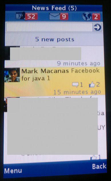 facebook java
