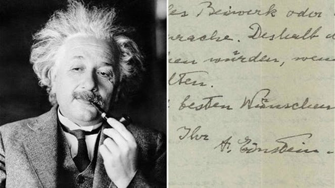 """Einstein's """"I don't believe in God"""" letter has sold on eBay — and you're not going to believe the price"""