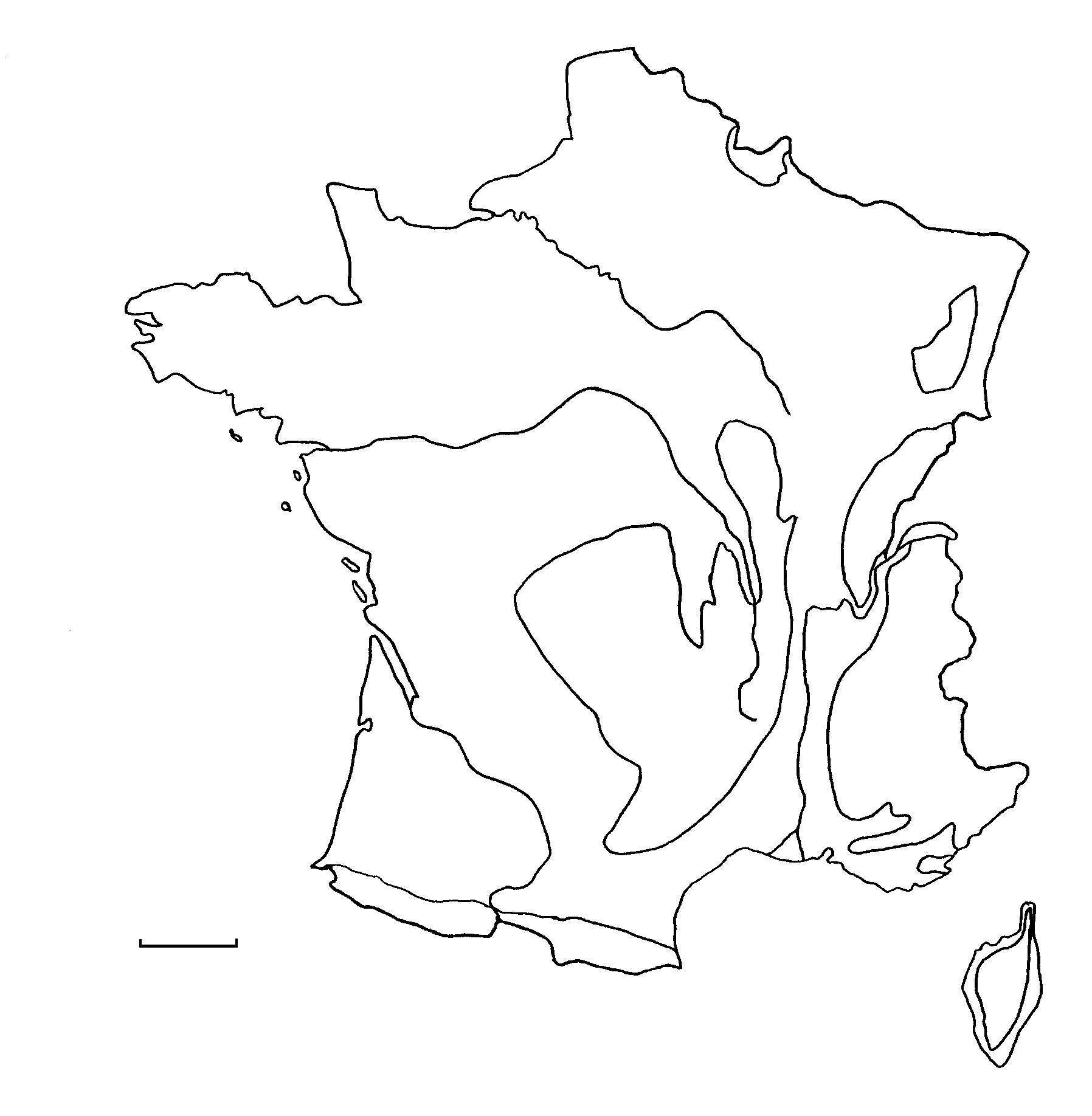 Carte De France Villes Et Fleuves Vierge Arparis