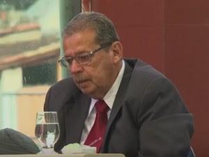 Ex-prefeito do município de Pedrão Gabriel Ribeiro, foi condenado a cumprir 37 anos e 9 meses de prisão por ter mandado matar o seu vice-prefeito, Antônio Alvim (Foto: Reprodução/TV Subaé)
