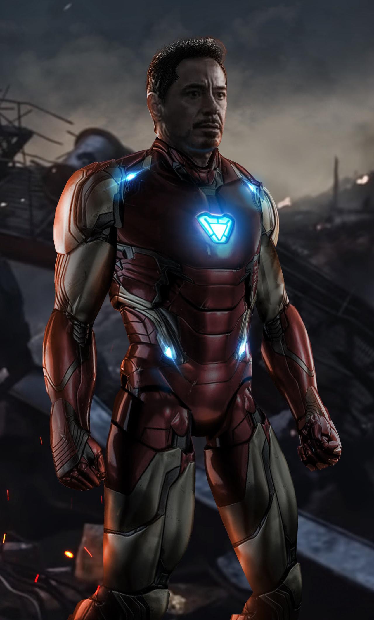 Avengers Endgame Iron Man Iphone Wallpaper Zendha