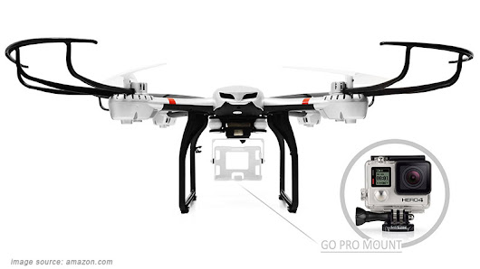 Best Drones For GoPro Camera - Quadcopter Arena