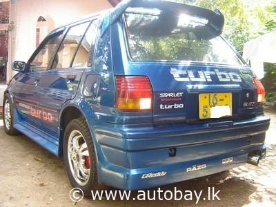 Toyota TOYOTA STARLET GT  Buy, Sell, Vehicles, Cars, Vans