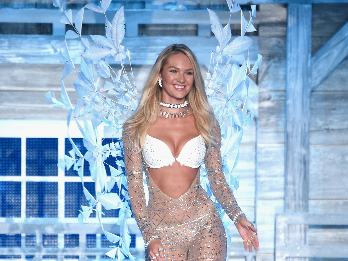 Runway icon — and Angel — Candice Swanepoel appeared.