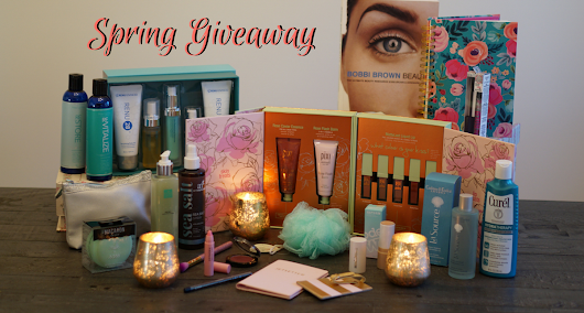 Blooming Beauty Spring Giveaway - A Beautiful Way To Celebrate March - Inspirations and Celebrations