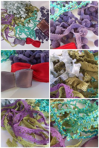 hand-dyed trims