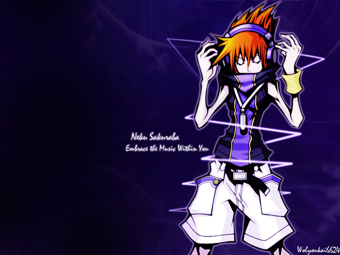 The World Ends With You Wallpaper Embrace The Music Minitokyo
