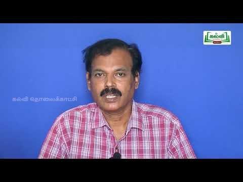 11th Textile Technology பாவு, ஊடை தயார் செய்தல் அலகு 4 பகுதி 2 Kalvi TV