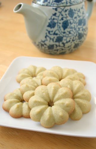 Green Tea Spritz Cookies
