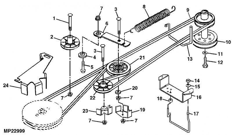 Wiring Database 2020  30 Huskee Lt4200 Deck Belt Diagram