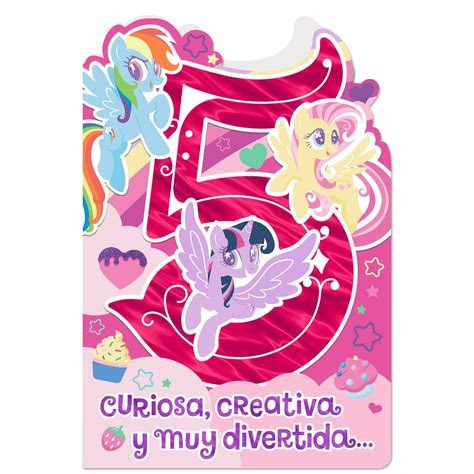 Hasbro® My Little Pony® Spanish Language 5th Birthday Card