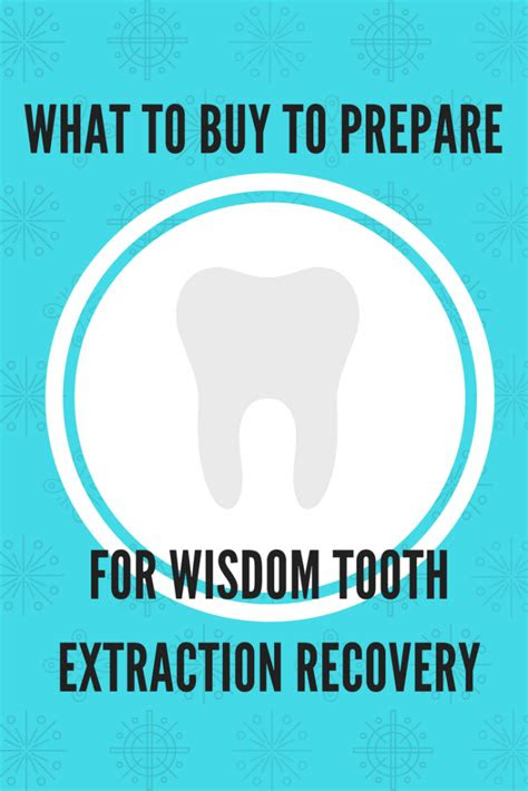buy  prepare  wisdom tooth extraction