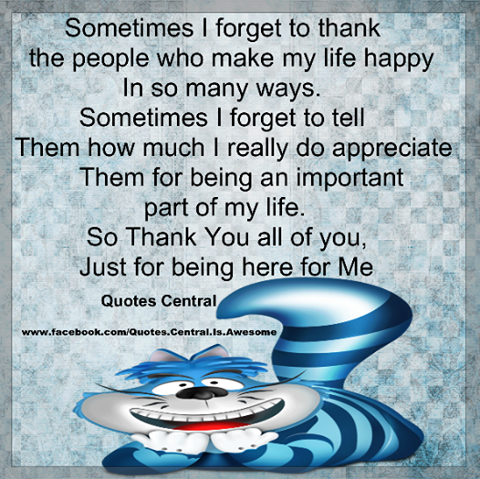 Thank You All Of You Just For Being Here For Me Pictures Photos