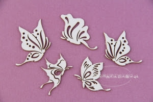 Rajskie motyle zestaw