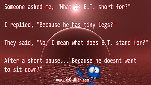What is E.T. Short For?