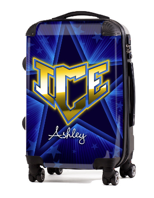 "Ice Cheer 20"" Carry-On Luggage"