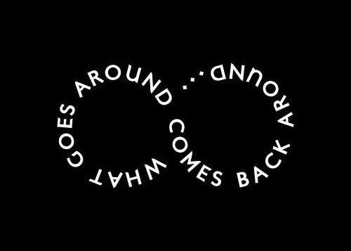 Imágenes De What Goes Around Comes Back Around Quotes