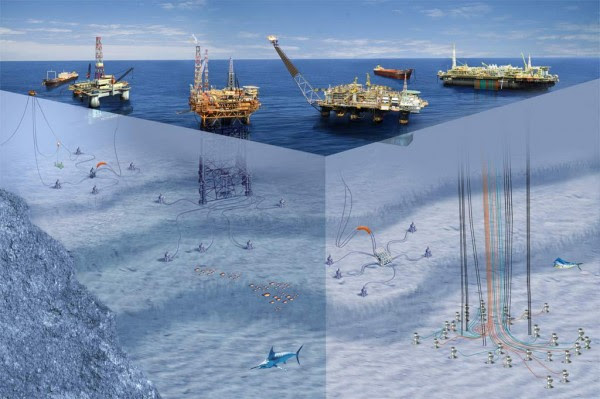 -1-agua de exploración de petróleo