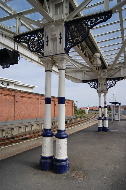 Hartlepool Railway Station, Columns by Andrew Handyside and Company of Derby and London